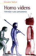 Homo Videns - Televisão e Pós-Pensamento, livro, curtagora